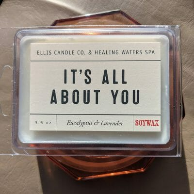 """It's All About You"" Eucalyptus & Lavender Wax Melts"