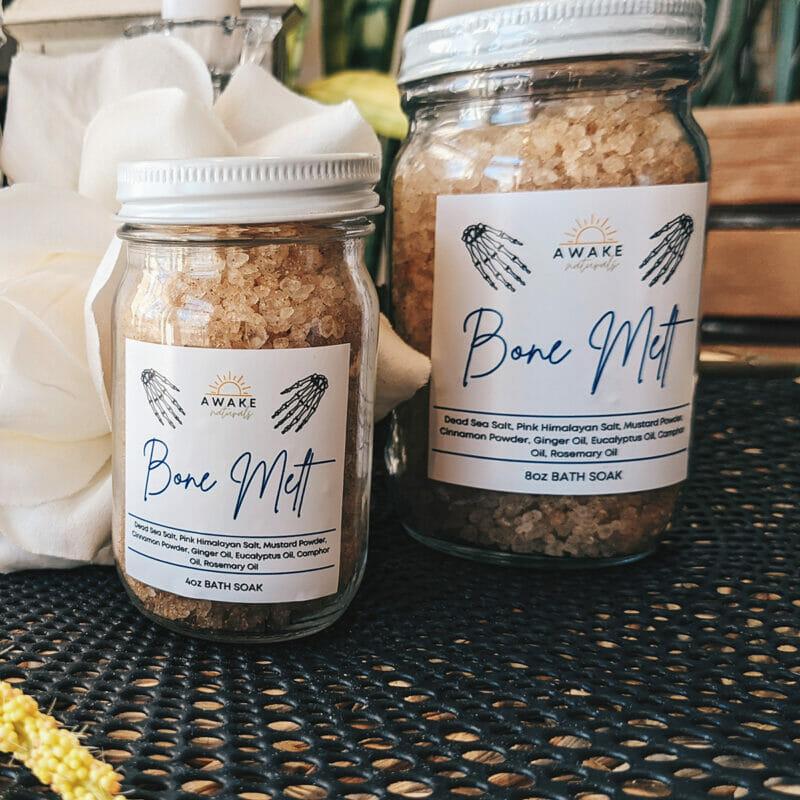 "Awake Naturals ""Bone Melt"" Bath Salt"